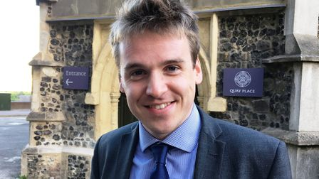 Ipswich Conservative Candidate Tom Hunt. Picture: PAUL GEATER