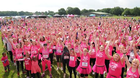 Ipswich Race for Life returns to Trinity Park on Saturday, June 23. Picture: SARAH LUCY BROWN