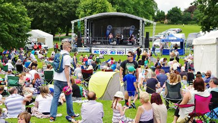 Ipswich Music Day always pulls big crowds. Picture: PETER CUTTS