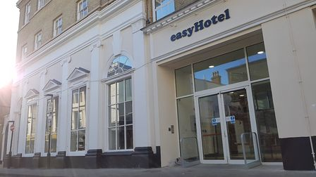 The easyHotel in Ipswich town centre is the new 'super budget' hotel. Picture: RACHEL EDGE