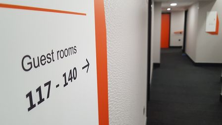 The easyHotel has received a �4million investment. Picture: RACHEL EDGE