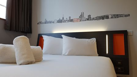 The new hotel has rooms from �14.99 a night. Picture: RACHEL EDGE