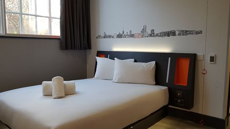 easyHotel in Ipswich town centre the new 'super budget' hotel will also be home to a coffee shop on