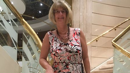 Ginny Shoesmith has been awarded a British Empire Medal Picture: GINNY SHOESMITH