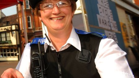 PCSO Ginny Shoesmith was shocked to be recognised in the Queen's New Year Honours Picture: SIMON PAR