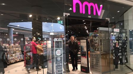 HMV moved to Sailmakers Shopping Centre in February. Picture: KATY SANDALLS