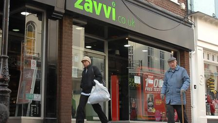Virgin Megastore was re-branded as Zavvi, but closed soon afterwards in 2009. Picture Owen Hines 2