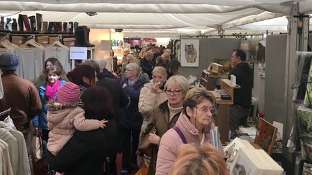 The Christmas Craft Market attracted tens of thousands of visitors. Picture; PAUL GEATER