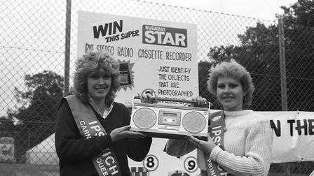 Chances to win big prizes that the Evening Star was giving away in 1983 Picture: ARCHANT