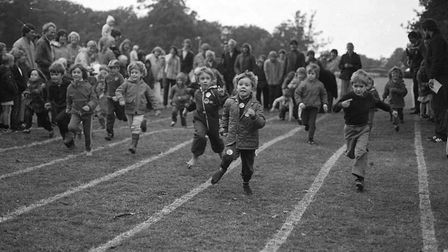 Children also got to see who was the fastest on the track Picture: ARCHANT