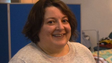 Julia Hancock, manager of the Selig (Suffolk) Trust, which runs Ipswich Winter Night Shelter. Pictur