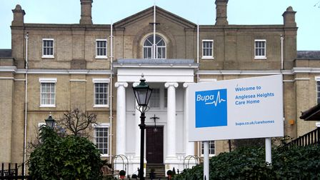 Until mid 2018, the site housed a Bupa care home Picture: ARCHANT