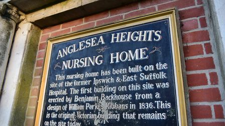 The old sign for Anglesea Heights Nursing Home Picture: SARAH LUCY BROWN