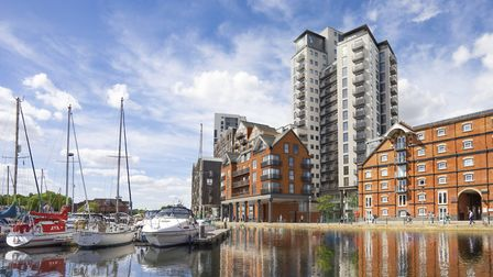 The Winerack on Ipswich Waterfront could soon look like this after wrok restarted in 2018 Picture: C