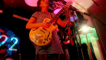 Bessie Turner performing at her 22:22 album launch at the Manor Ballroom in Ipswich. Picture: ROSS H