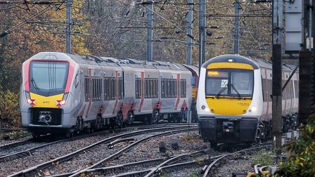 Trains from Ipswich to London could be cancelled this morning Picture: GREATER ANGLIA