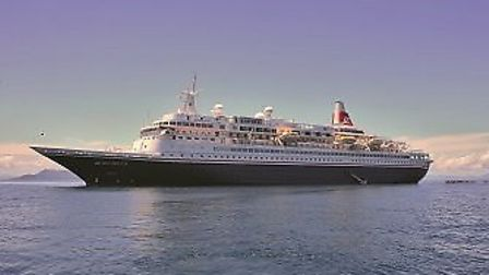 Boudicca at year. Picture: FRED. OLSEN CRUISE LINES