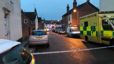 Police closed Kenyon Street while officers worked at the scene Picture: ARCHANT