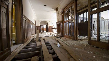 Images from 2012 revealed the building has fallen into a state of disrepair Picture: STEVEN KEAY/CHR