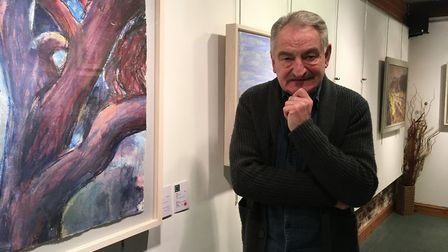 Anthony Coe of The John Russell Gallery retired in January 2018. Photo: Wayne Savage