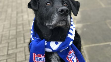 Bowza looks set to lead Ipswich Town out at Portman Road. Picture: VICTORIA PERTUSA