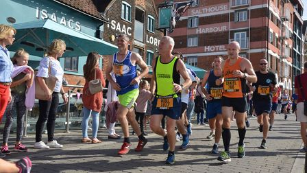 The 2019 Great East Run will pass through Ipswich Waterfront Picture: SONYA DUNCAN