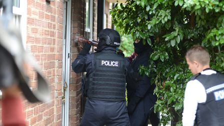Police raided the property on Belstead Road in Ipswich (stock image) Picture: KAREN WILLIE