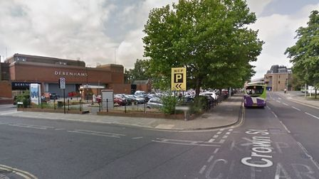 A £100 parking fine was issued after one customer spent just 12 looking for a space - only to move o
