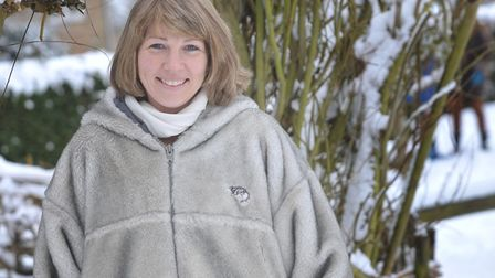 Beverley Derrett, whose husband Andrew has gone missing Picture: SARAH LUCY BROWN