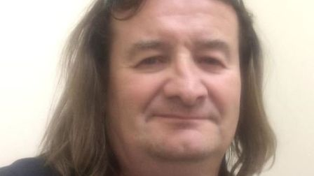 Andrew Derrett, 51, from Ipswich, has been reported missing Picture: SUFFOLK POLICE