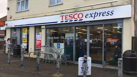 Tesco Express, Bramford Road. Picture: ARCHANT