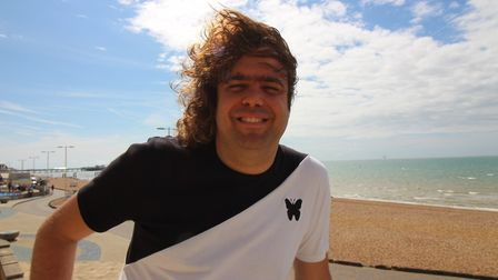 Daniel Wakeford from The Undateables Picture: CONTRIBUTED