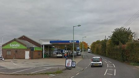 The road is unusually busy with additional traffic lights as gas works take place Picture: GOOGLE MA