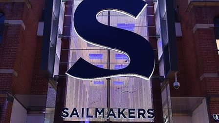 The Sailmakers centre in Ipswich Picture: ALISTAIR SYME