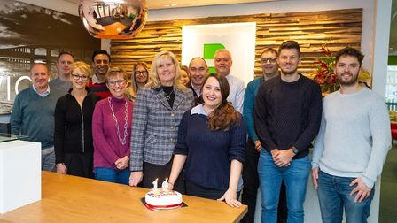 Basepoint Business Centre in Ipswich is celebrating its 10th birthday. Some of the current licensee