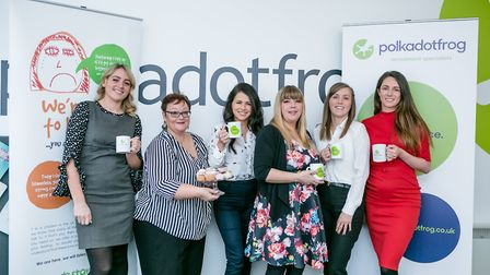 Polkadotfrog in Ipswich is working with local charity Fresh Start new beginnings on its Food for Tho