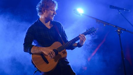 Everything we know about Ed Sheeran at Chantry Park in Ipswich Picture: PAUL BAYFIELD