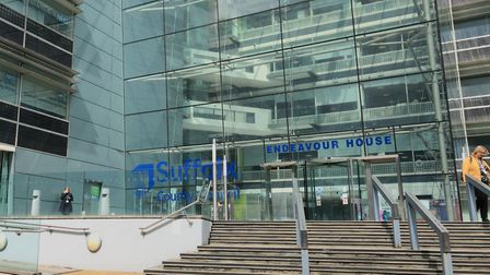 Suffolk County Council's cabinet is meeting at its Endeavour House headquarters. Picture: ARCHANT