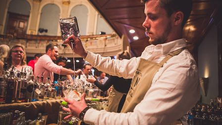 The Great British Gin Festival is coming to Ipswich on March 23, Picture: CONTRIBUTED