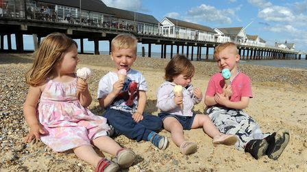 The beautiful Southwold Pier is popular with tourists young and old. Picture: VISITSUFFOLK.COM