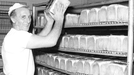 Were you on the staff at Took's bakery, Ipswich when these photographs were taken in the 1970s. (Pho