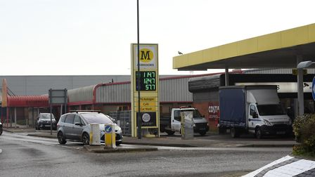 The former NAMCO building is going to be demolished along with the Morrisons petrol station kiosk an