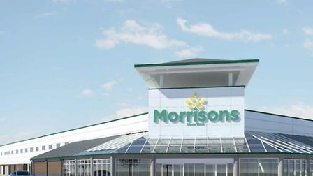 Ipswich Morrisons is set to get a facelift as part of the development. The company included this CGI