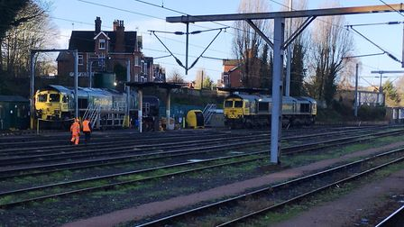 The new depot would replace the existing fuelling point near platform Four at Ipswich station. Pictu