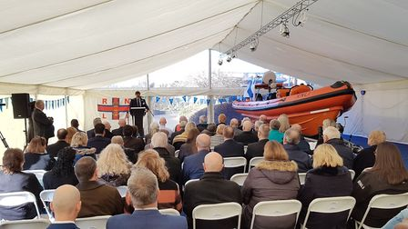 Fred. Olsen Cruise Lines naming ceremony of 'The Pride of Fred. Olsen' at Ipswich head office. Pi