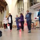 Tai Chi sessions being run at Quay Place as part of Suffolk Mind's Red January campaign. Picture: