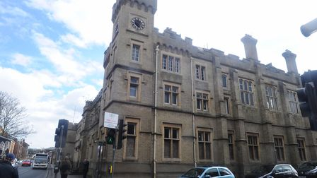 The disused County Hall, Ipswich. Picture: LUCY TAYLOR