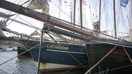 One photographer, who used to be in the merchant navy, took pictures of the boats at Ipswich Waterfr