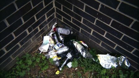 Many of the images depict the darker side of Ipswich Picture: LIFE ON THE STREETS PHOTOGRAPHER