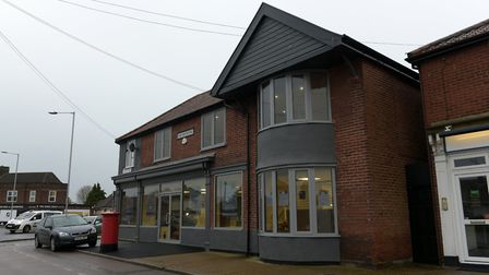 Work is underway on the St Elizabeth Hospice shop on Heath Road Picture: SARAH LUCY BROWN